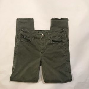 American eagle tall skinny jeans size 4